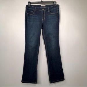 WHBM // Dark Wash Bootcut Jeans, Size 8